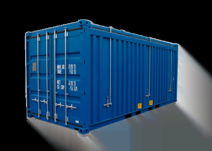 contenedor marítimo 20′ Hard Top