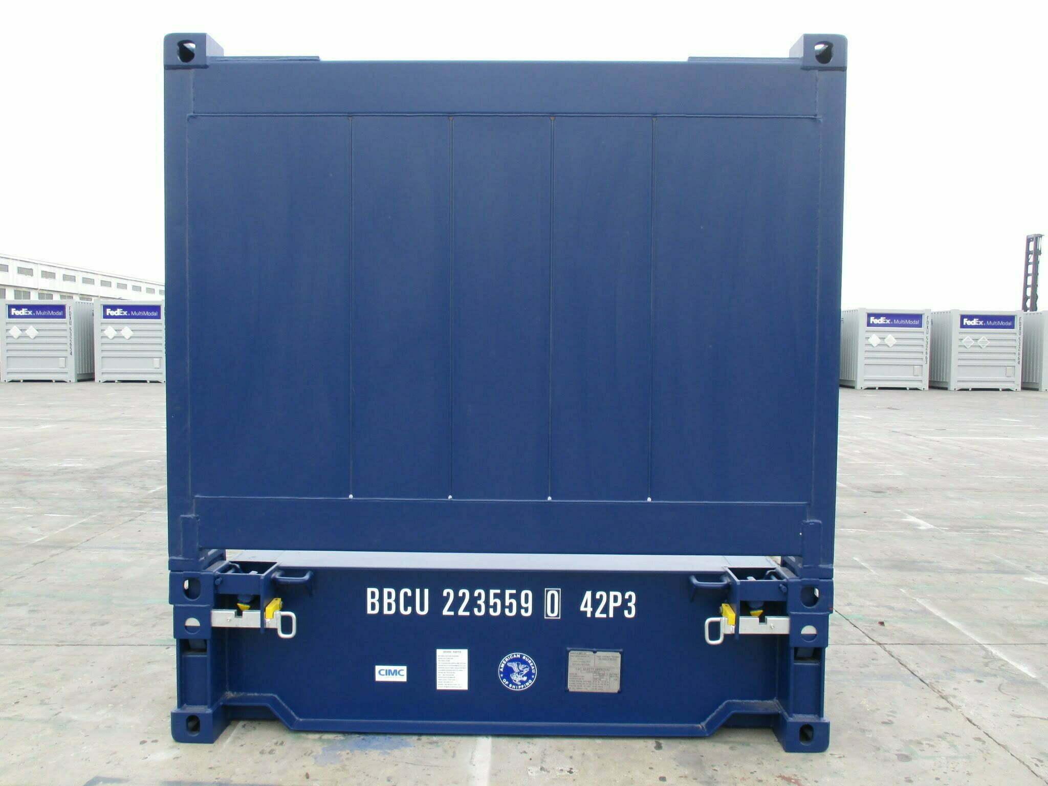 11FR40 - conteneur 40' Flat Rack