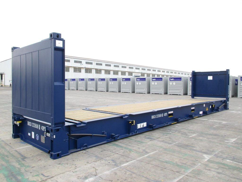 40 Flat Rack Container Bullbox