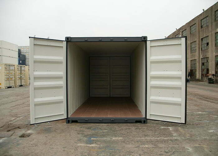 20dd 01 - contenedor 20' Double Door