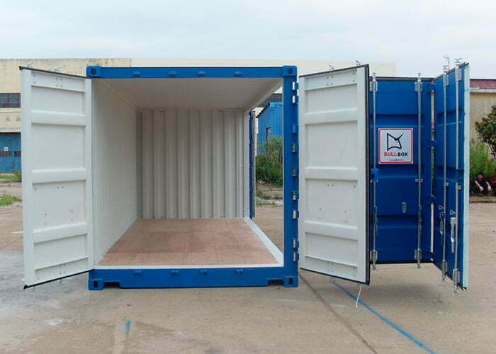 20os 01 - 20' Open Side container