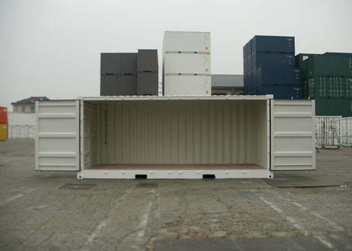 20os 04 - 20' Open Side container