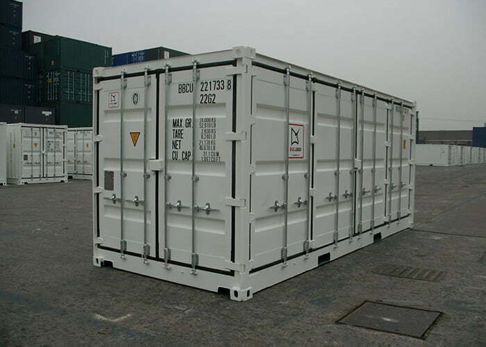 20os 05 - 20' Open Side container