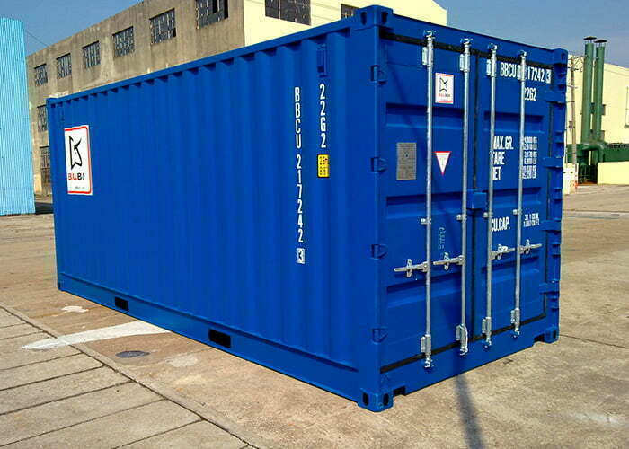20os 06 - 20' Open Side container