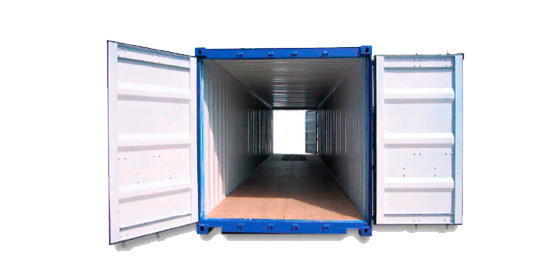 Double doors40 - 40' Double Door container