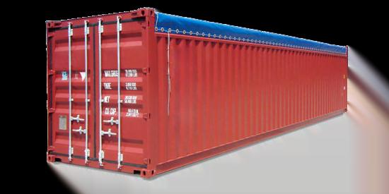 Opentop40 - contenedor 40' Doble puerta