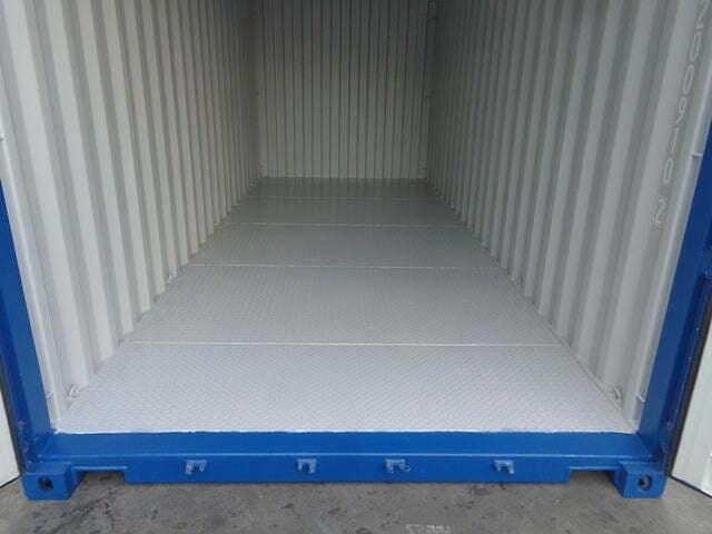 steel floor - contenedor 20'