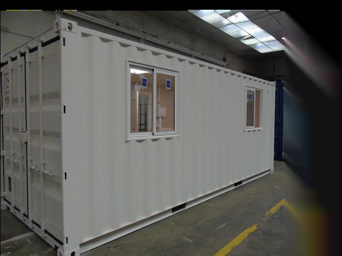 contenedor oficina - Contenedores para equipo industrial