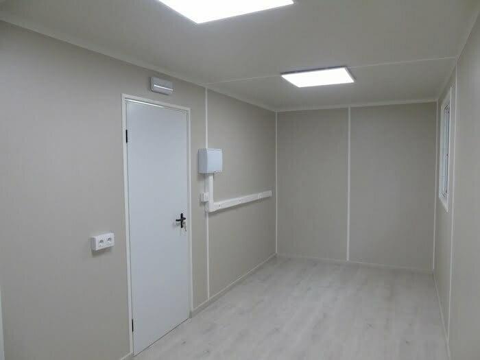 interior oficina - Contenedores para equipo industrial