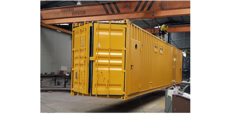 modificaciones 40HC - Contenedores para equipo industrial