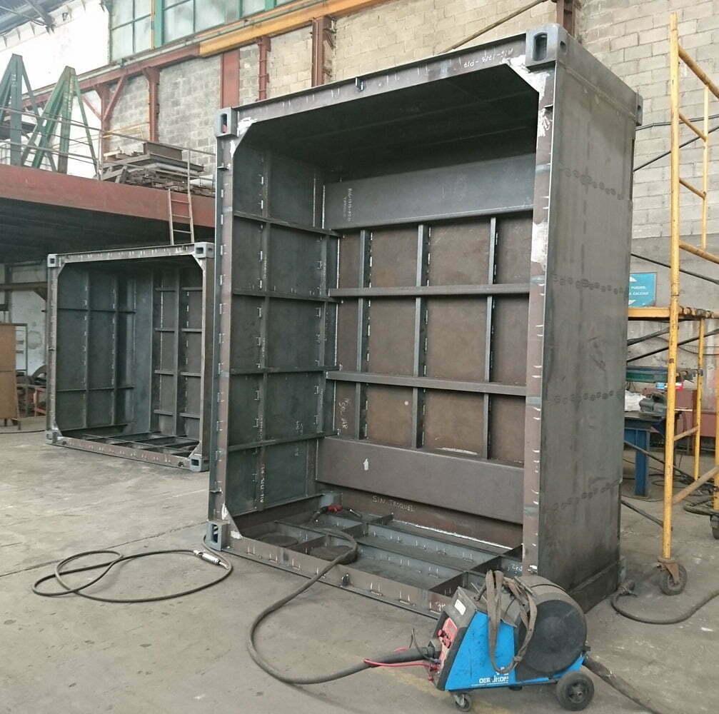 bullbox contenedores baja radioactividad 01 - Low Radioactivity Waste Containers
