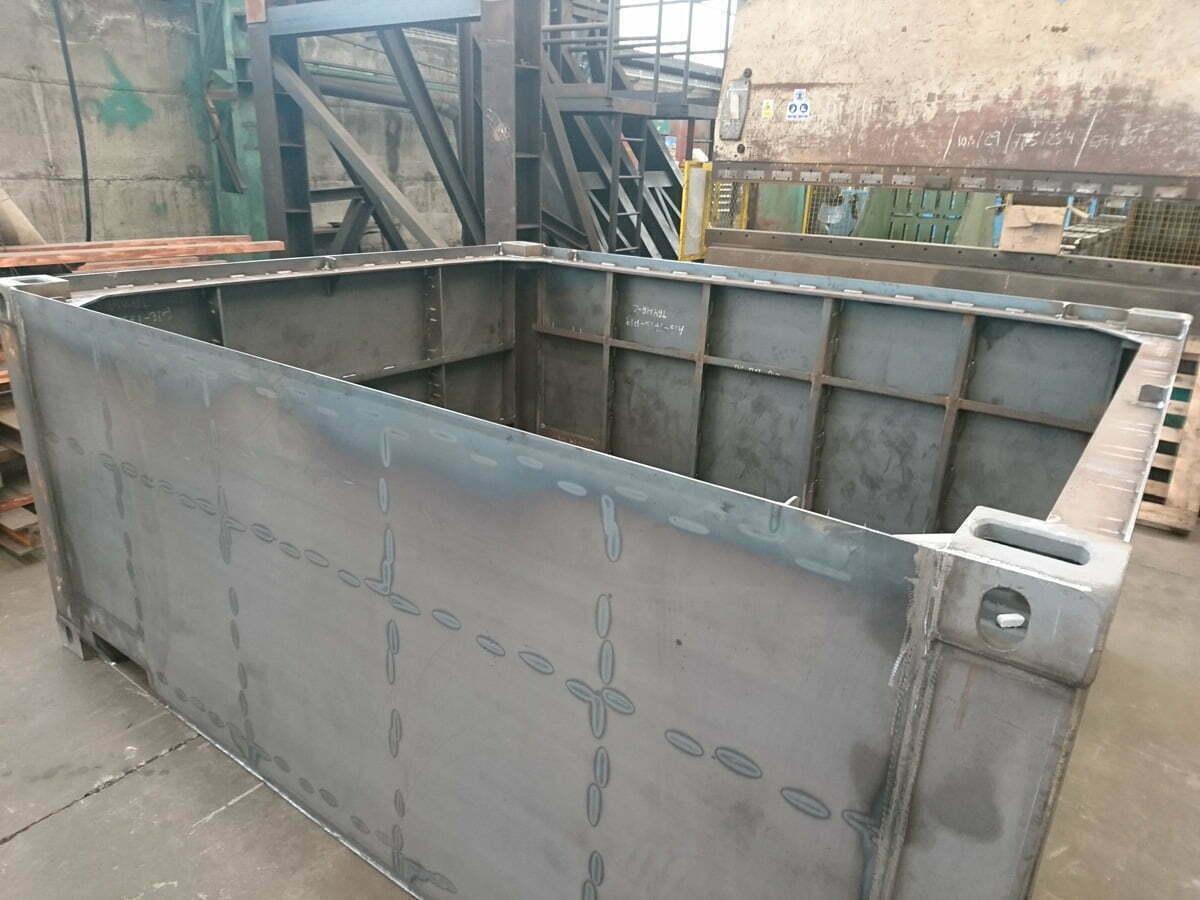 bullbox contenedores baja radioactividad 02 - Low Radioactivity Waste Containers