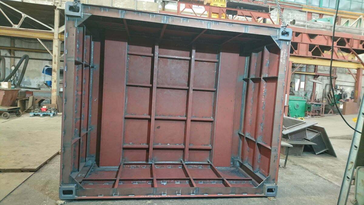 bullbox contenedores baja radioactividad 04 - Low Radioactivity Waste Containers