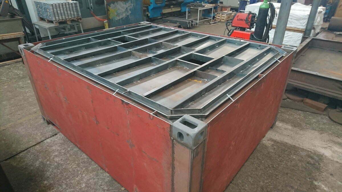 bullbox contenedores baja radioactividad 05 - Low Radioactivity Waste Containers