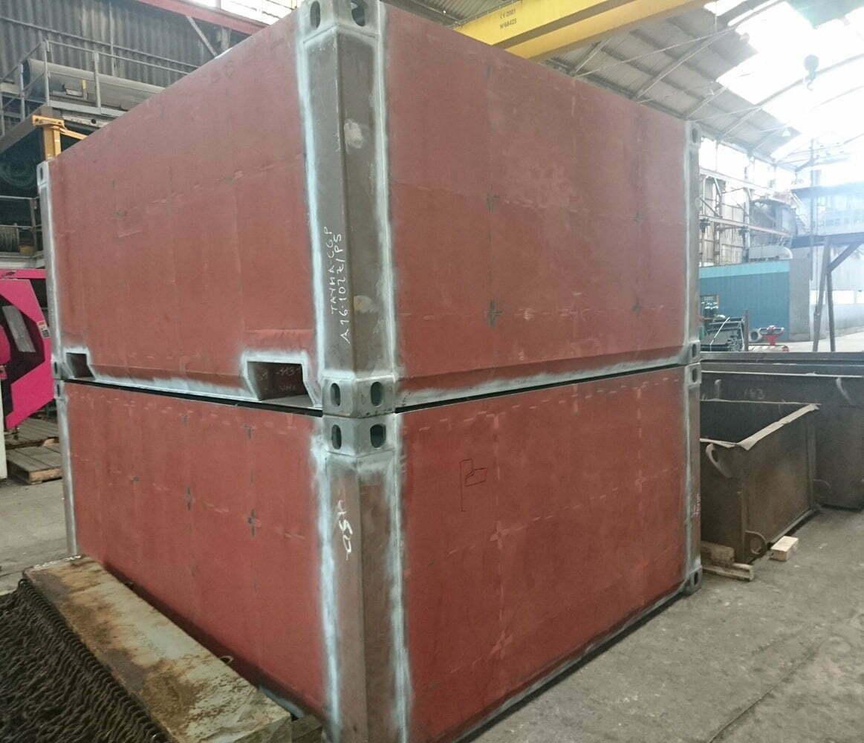 bullbox contenedores baja radioactividad 06 - Low Radioactivity Waste Containers