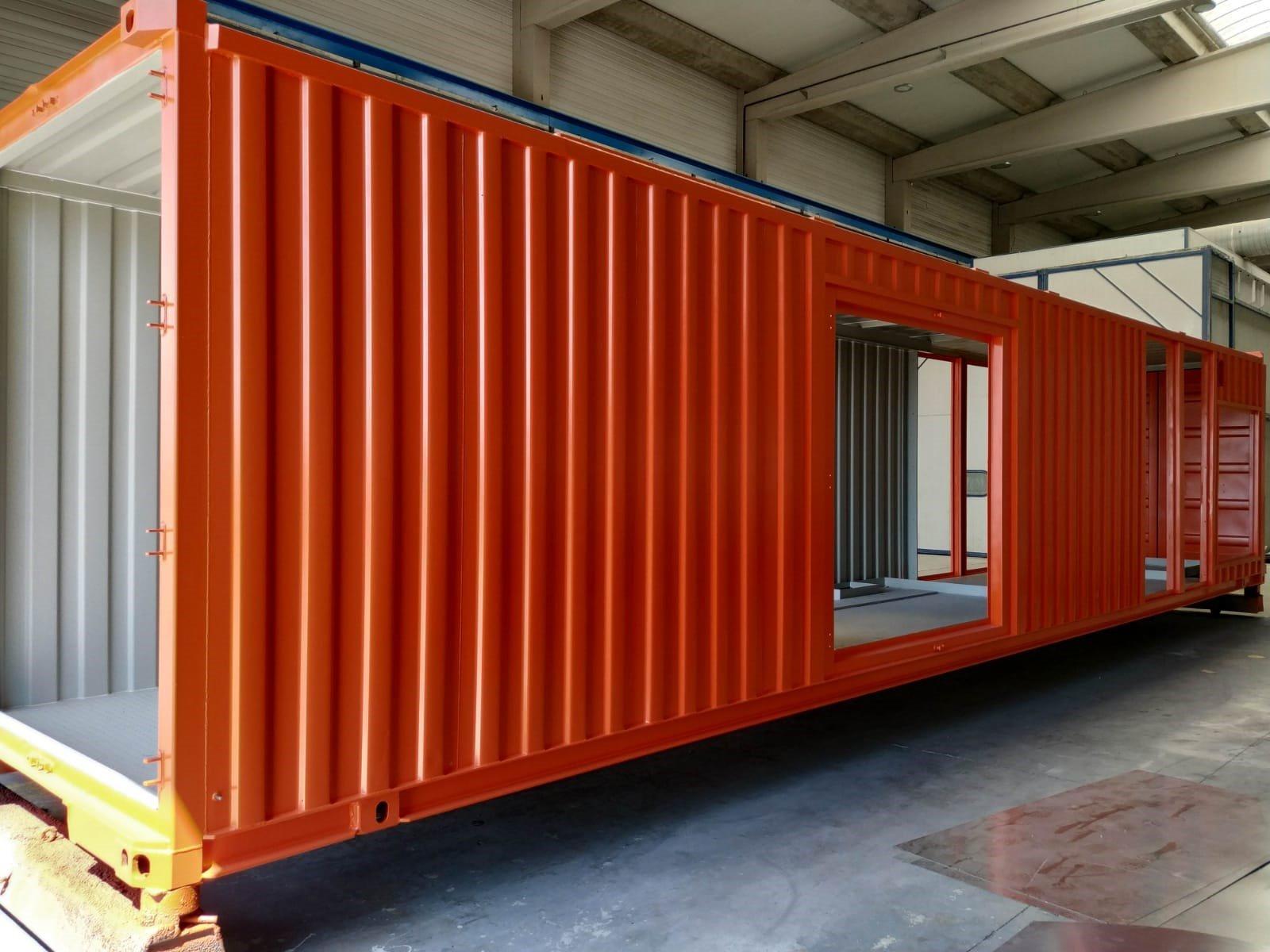 container fabricado a medida para grupos electógenos - Containers for Energy Stockage