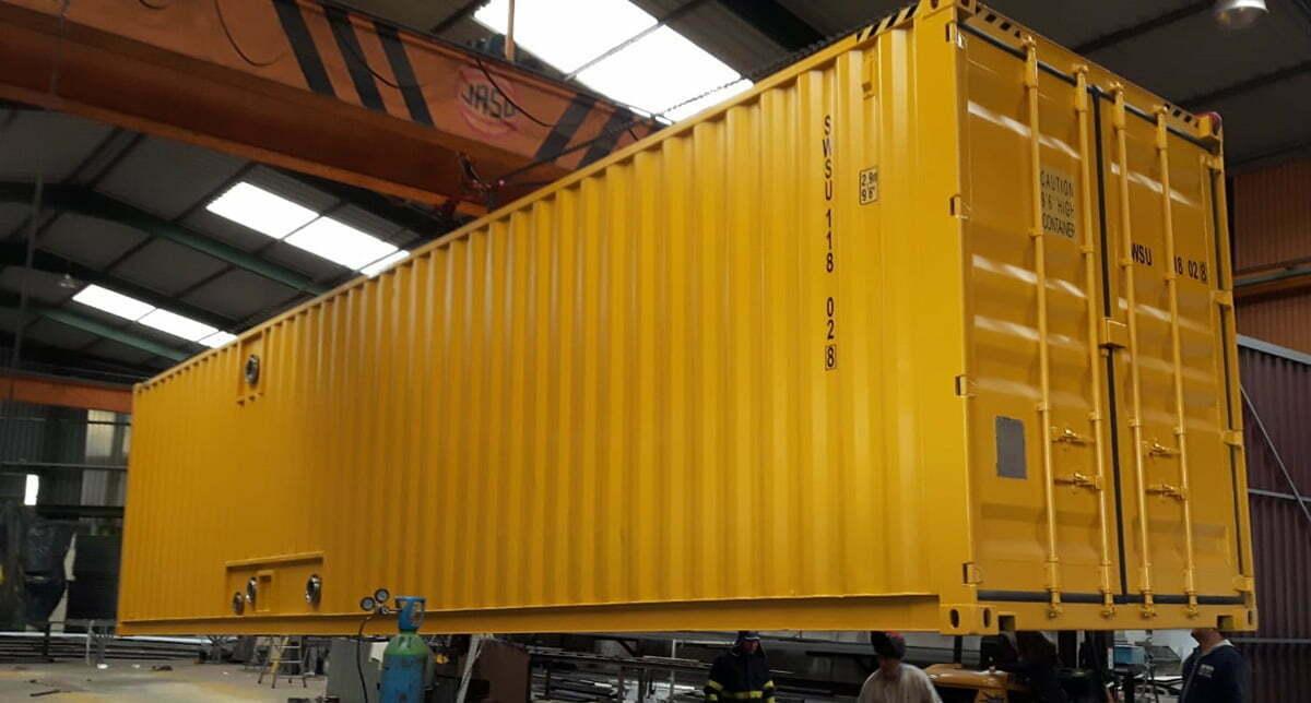 contenedor 40 pies tratamiento agua - Contenedores para tratamiento de agua