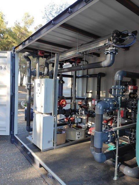 equipos instalados en container - Servicios