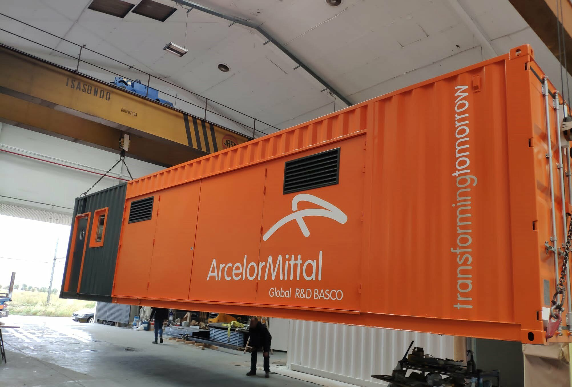 proyecto ARCELOR en contenedores maritimos - Projects