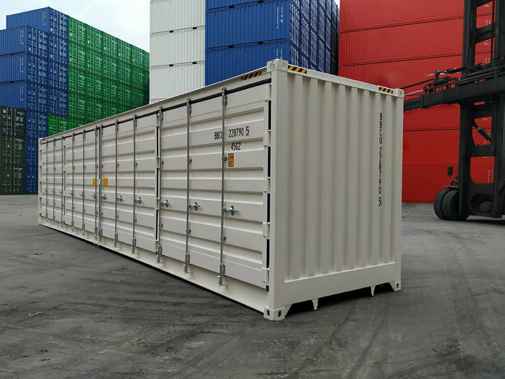 40 foot open side high cube 1 - 40'HC Open Side