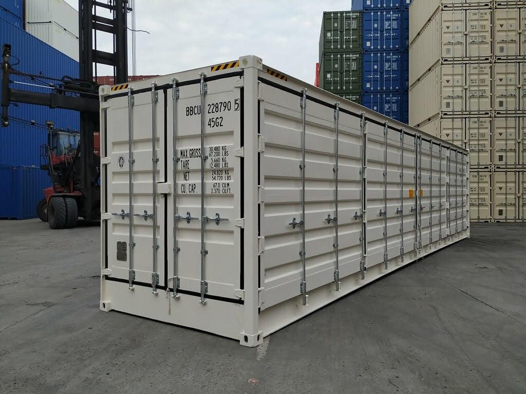 40 open side high cube - 40'HC Open Side