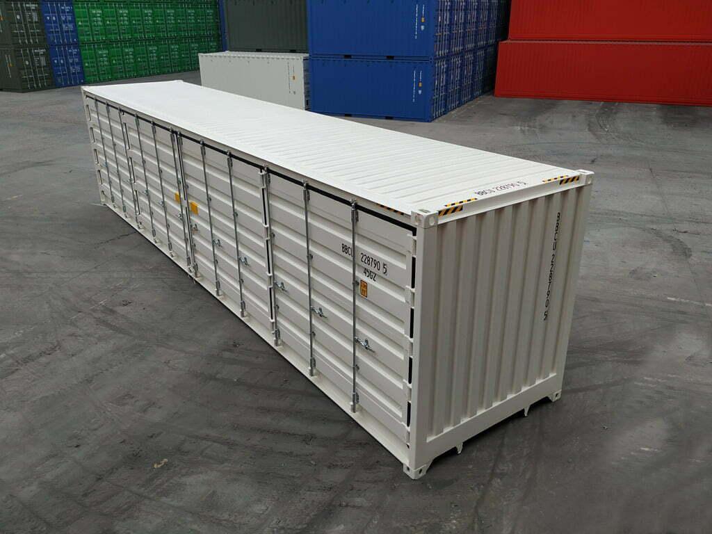 40 pies high cube full side open 1 - 40'HC Open Side