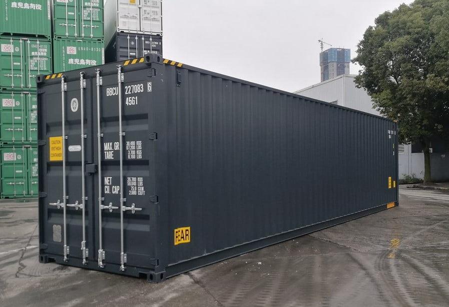 40HCDD - contenedor 40' Doble puerta