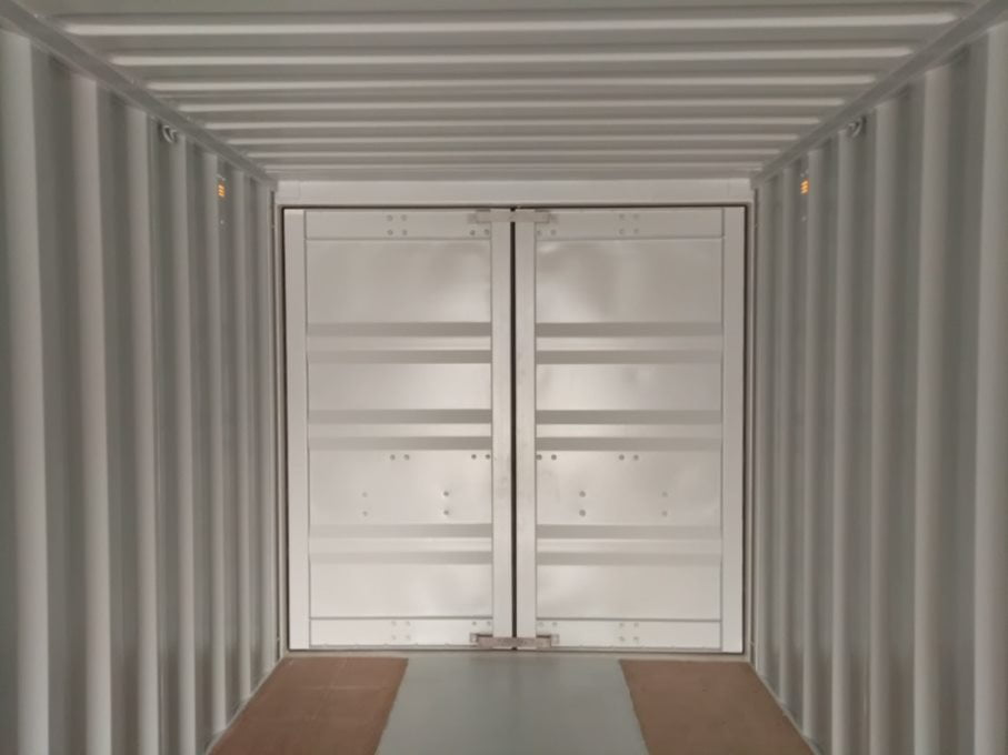 goosneck tunel - contenedor 40' Doble puerta