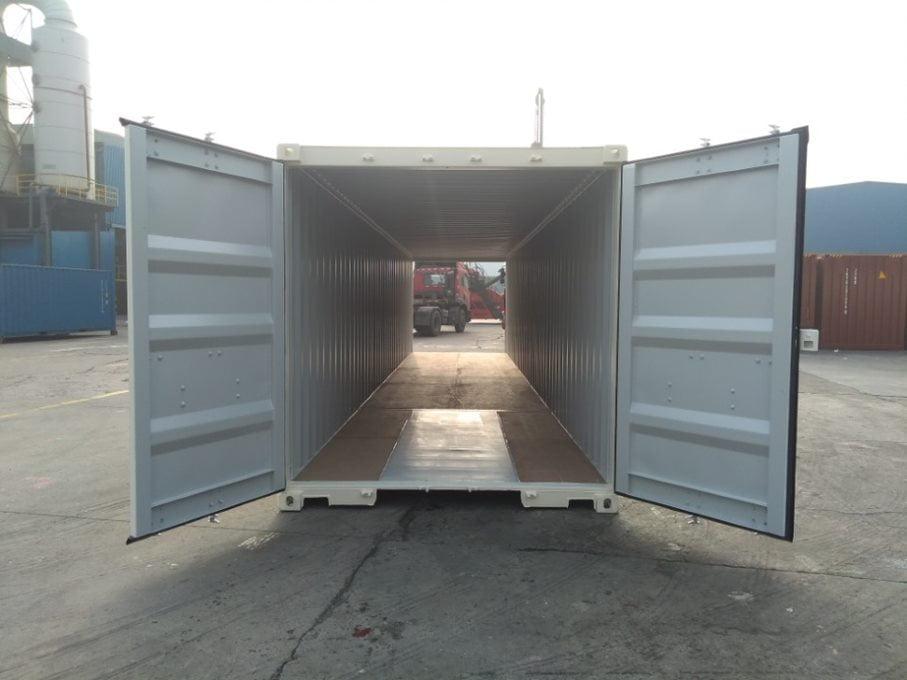 open doors - contenedor 40' Doble puerta
