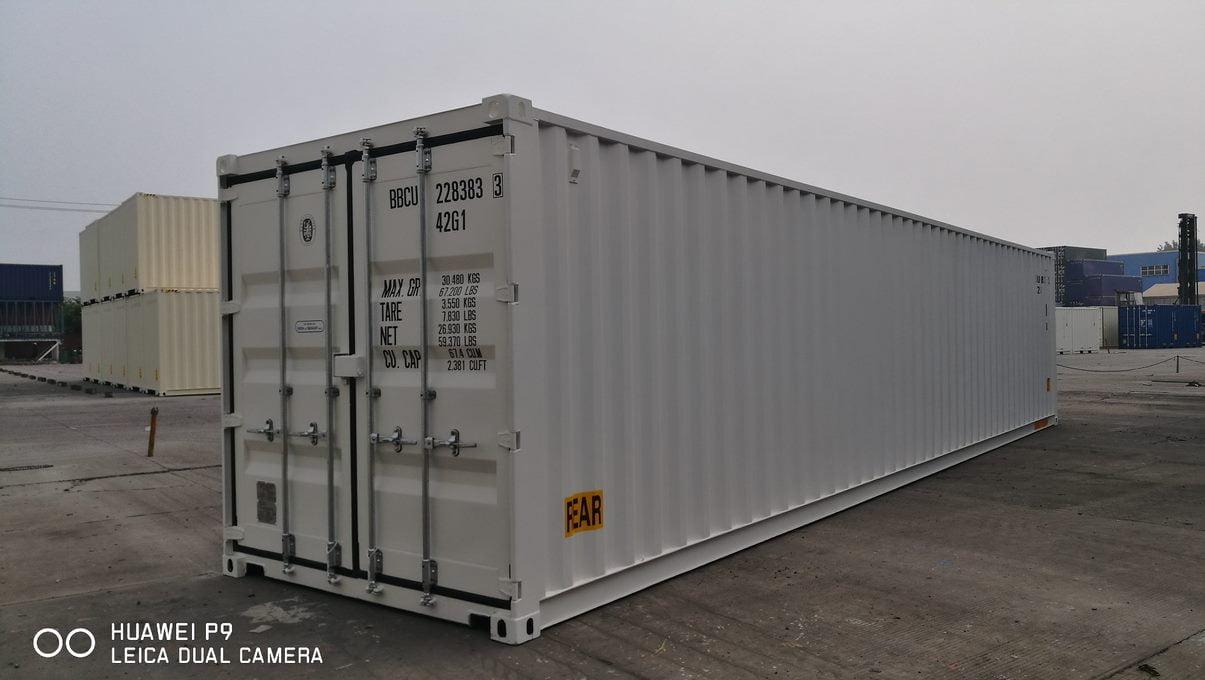 rear 40DD - contenedor 40' Doble puerta