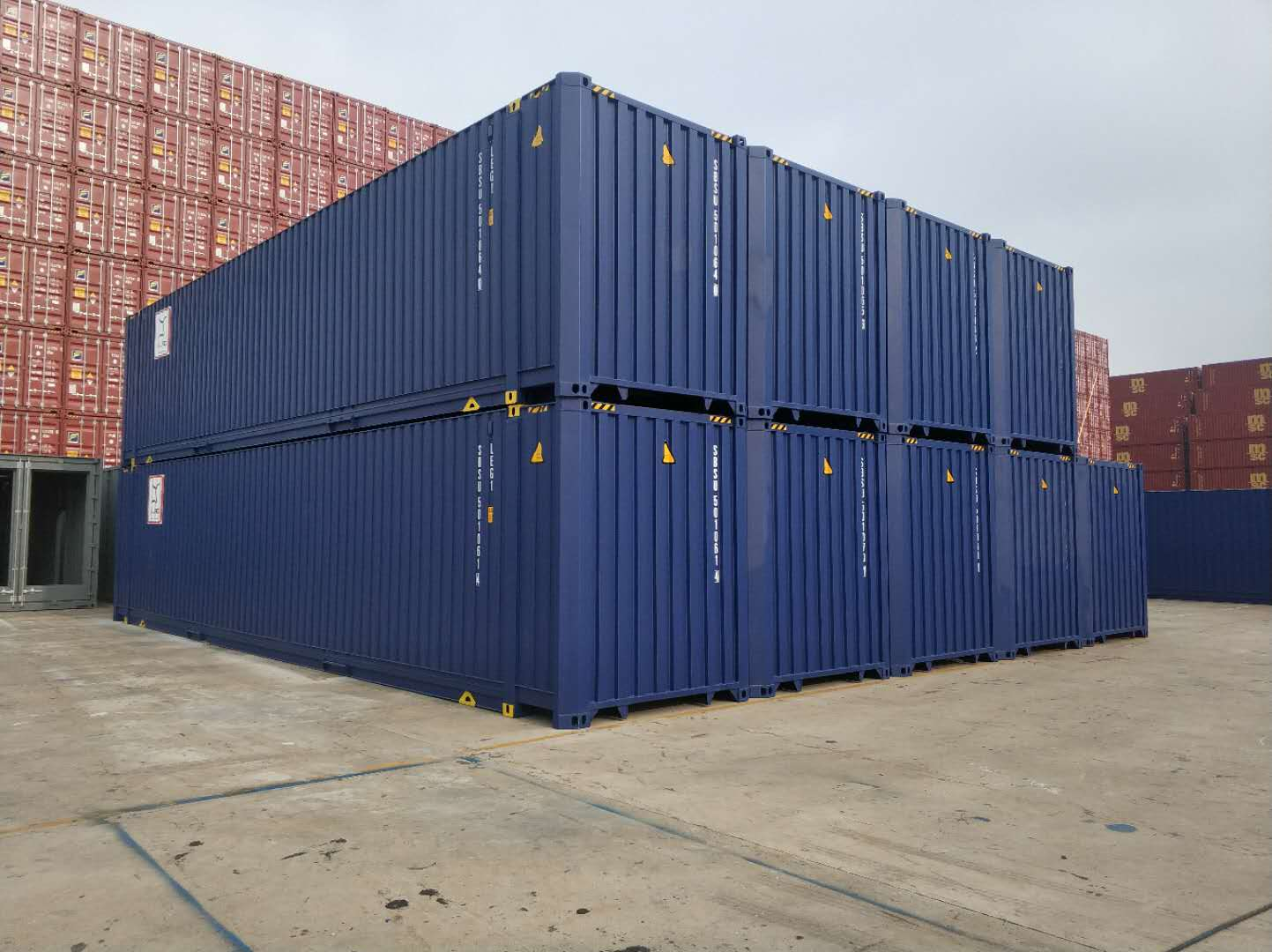45 foot HC pallet wide - 45' HC Pallet Wide container