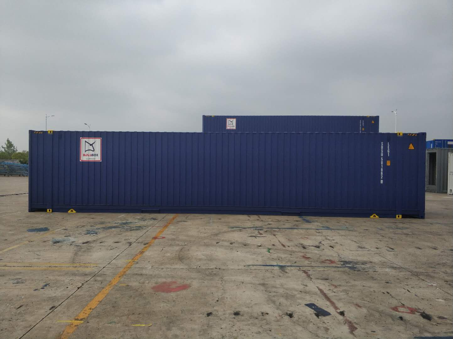 45 pallet wide high cube - 45' HC Pallet Wide container
