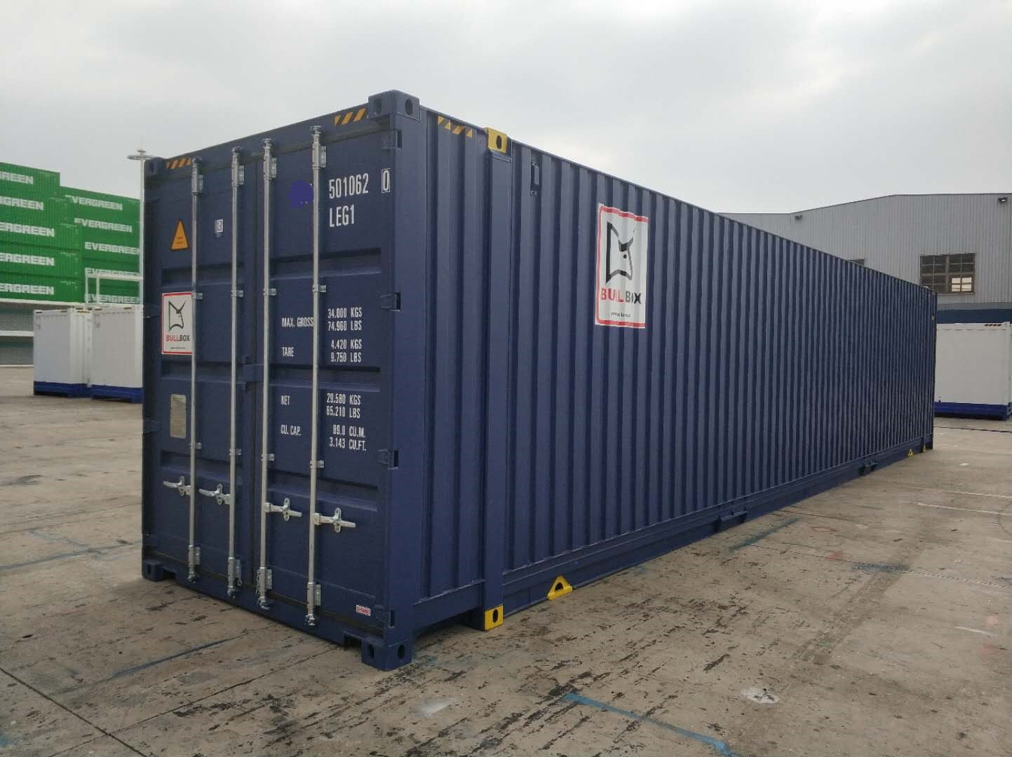 45 pies pallet wide high cube - 45' HC Pallet Wide container